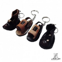 Sandalet Maskot Anahtarlık