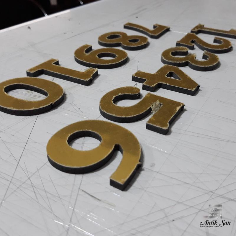 Aynalı dekota rakam
